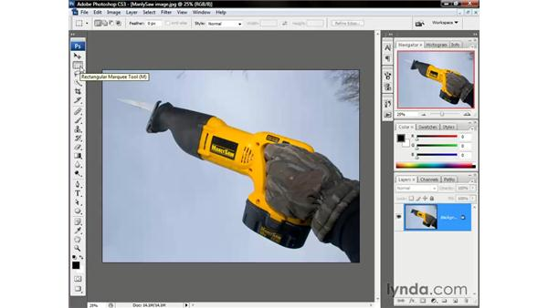 Meet the Selection tools: Photoshop CS3 One-on-One: The Essentials