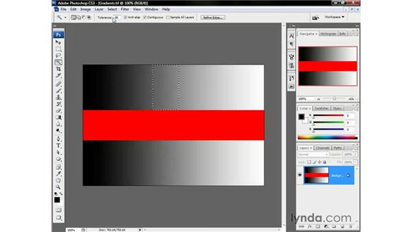 Grow, Similar, and Inverse: Photoshop CS3 One-on-One: The Essentials