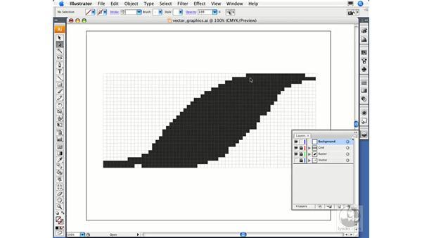 What are vector graphics?: Illustrator CS3 Essential Training