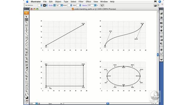 Understanding paths: Illustrator CS3 Essential Training