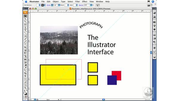 Using smart guides: Illustrator CS3 Essential Training
