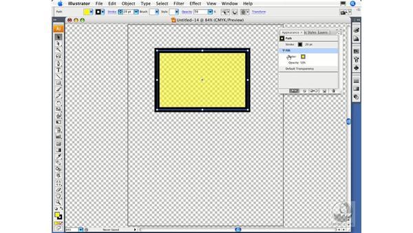 Targeting object attributes: Illustrator CS3 Essential Training