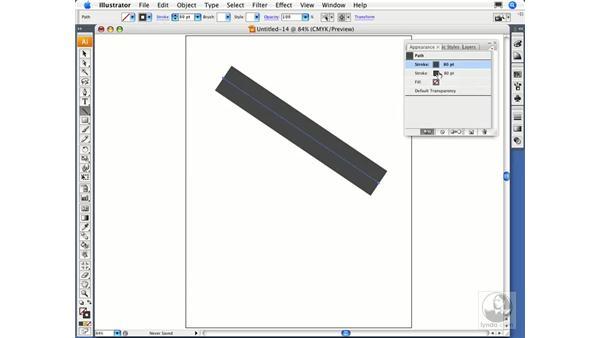 Adding multiple attributes: Illustrator CS3 Essential Training