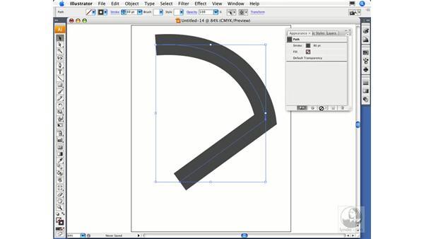 Expanding appearances: Illustrator CS3 Essential Training