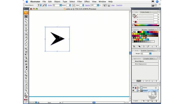 Working with patterns: Illustrator CS3 Essential Training