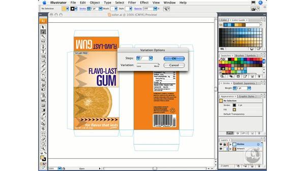 Using the Color Guide: Illustrator CS3 Essential Training