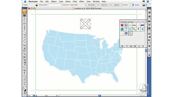 Defining symbols: Illustrator CS3 Essential Training