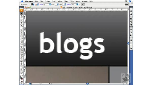 Using Pixel Preview: Illustrator CS3 Essential Training