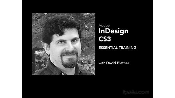 Welcome: InDesign CS3 Essential Training