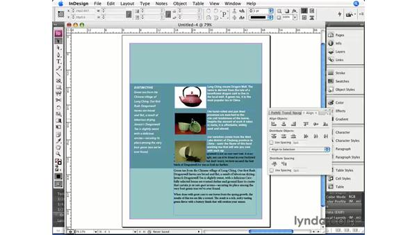 InDesign workflow overview: InDesign CS3 Essential Training