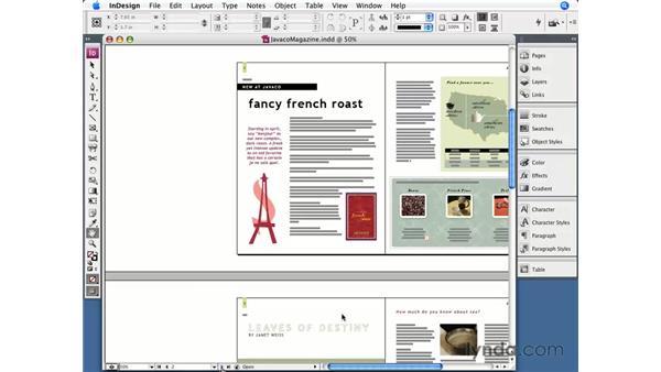 Navigating your document: InDesign CS3 Essential Training