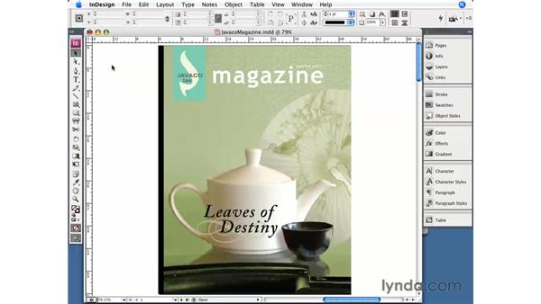 Rulers and measurements: InDesign CS3 Essential Training