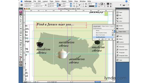 Quick Apply: InDesign CS3 Essential Training