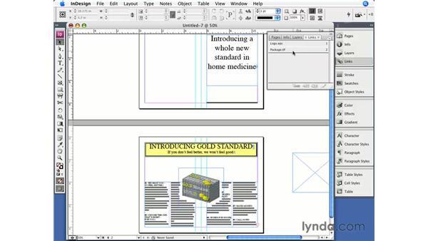 Converting QuarkXPress files: InDesign CS3 Essential Training