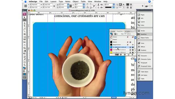 Transparency and Clipping Paths: InDesign CS3 Essential Training