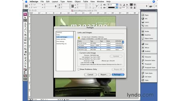 Preflight: InDesign CS3 Essential Training