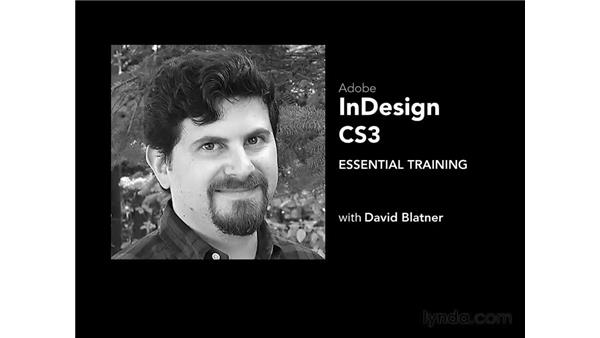Goodbye: InDesign CS3 Essential Training