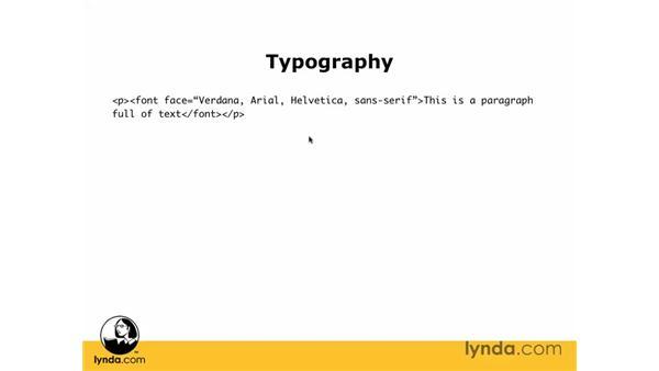 CSS vs. the Font tag: Dreamweaver CS3 Essential Training
