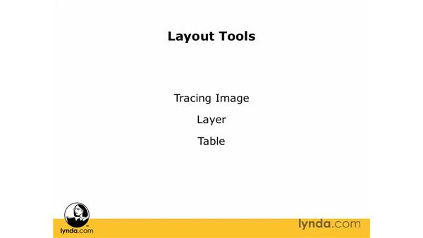Dreamweaver's layout tools: Dreamweaver CS3 Essential Training