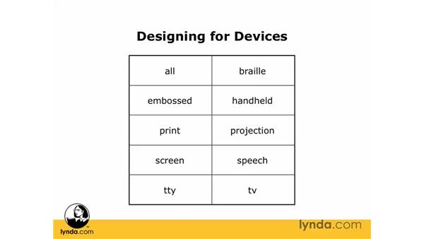 What is a device?: Dreamweaver CS3 Essential Training