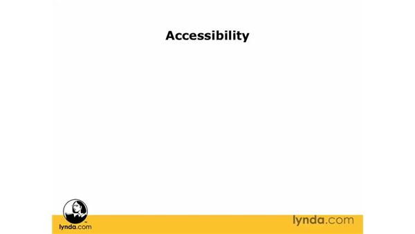 W3C accessibility guidelines: Dreamweaver CS3 Essential Training