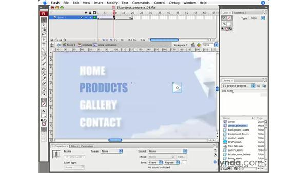 Animated buttons: Flash CS3 Professional Essential Training