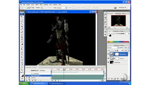 Working with Photoshop video layers: After Effects CS3 Professional New Features
