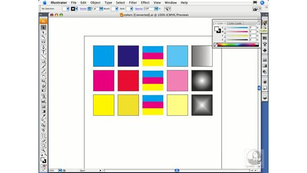 Choosing a document color mode: Migrating from FreeHand to Illustrator CS3