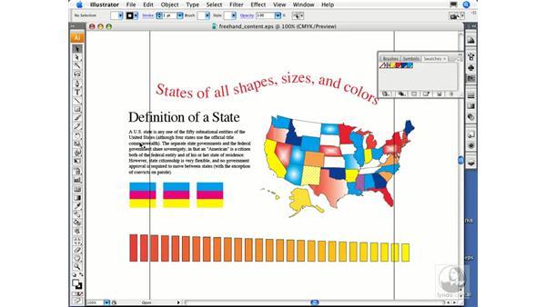 Migrating via EPS, PDF, or Illustrator files: Migrating from FreeHand to Illustrator CS3