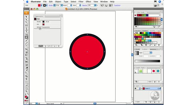 The Appearance panel: Migrating from FreeHand to Illustrator CS3
