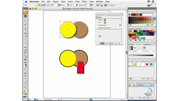 Using graphic styles: Migrating from FreeHand to Illustrator CS3