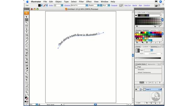 Placing text on a path: Migrating from FreeHand to Illustrator CS3