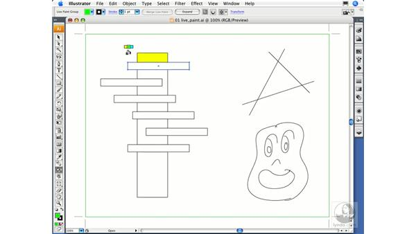 Working with Live Paint groups: Migrating from FreeHand to Illustrator CS3