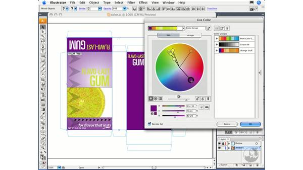 Experimenting with color: Migrating from FreeHand to Illustrator CS3