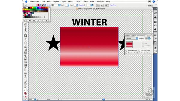 Opacity masks: Migrating from FreeHand to Illustrator CS3