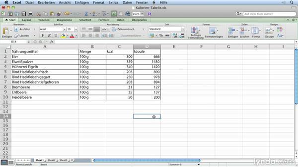 Excel Tabellen Importieren