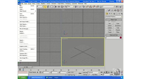 Creating 3D and AutoCAD files from Vanishing Point: Photoshop CS3 Extended for 3D + Video