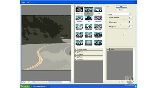 Using other filters and effects: Photoshop CS3 Extended for 3D + Video