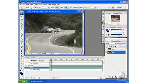 Rotoscoping video in Photoshop: Photoshop CS3 Extended for 3D + Video
