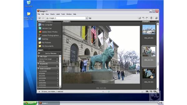 Customizing the workspace: Bridge and Version Cue CS3 Essential Training