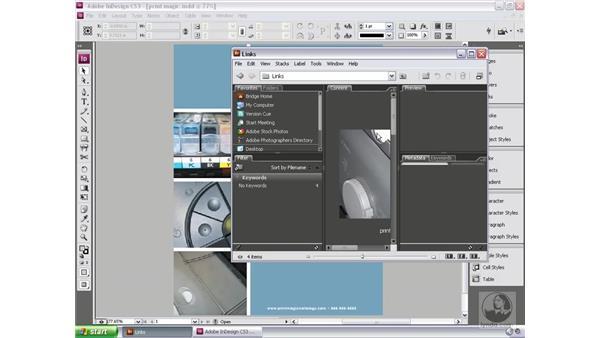 Placing files: Bridge and Version Cue CS3 Essential Training