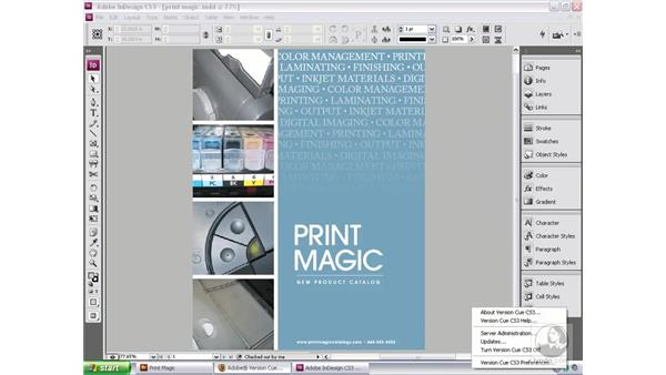 Setting up a PDF review: Bridge and Version Cue CS3 Essential Training