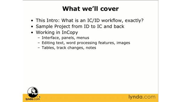 Overview: InCopy CS3 + InDesign CS3 Integration