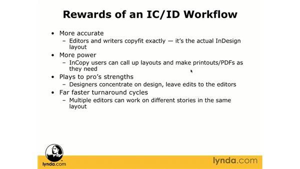 The rewards of moving to InCopy: InCopy CS3 + InDesign CS3 Integration