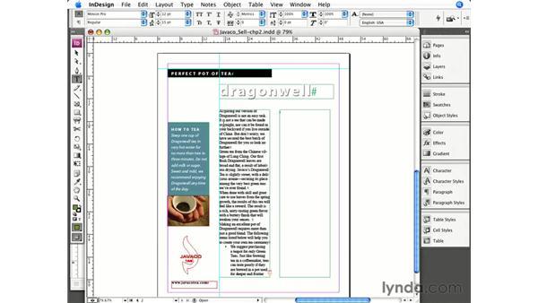 Understanding stories and frames: InCopy CS3 + InDesign CS3 Integration