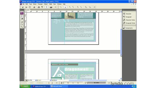 Working with read-only layouts: InCopy CS3 + InDesign CS3 Integration