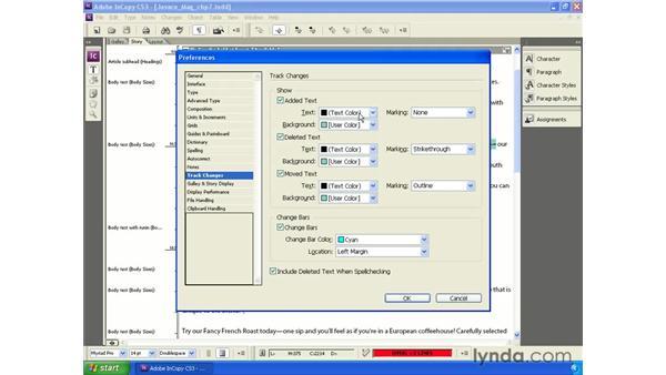 Customizing the markup: InCopy CS3 + InDesign CS3 Integration