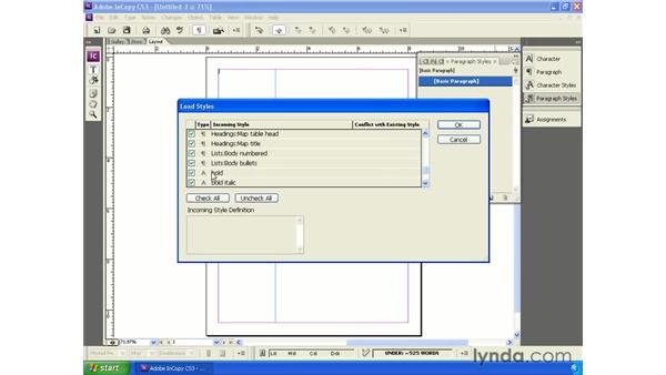 Creating InCopy templates: InCopy CS3 + InDesign CS3 Integration
