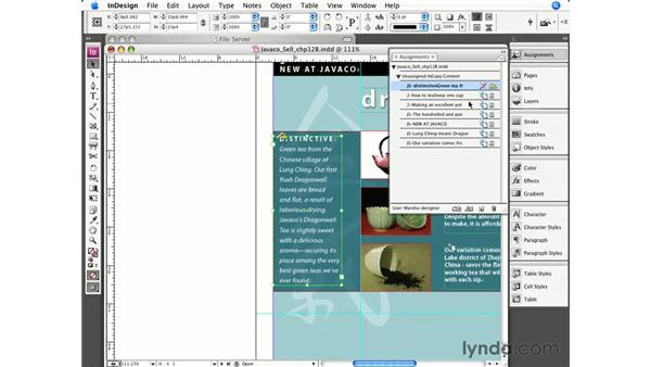 Editing and updating stories in the layout: InCopy CS3 + InDesign CS3 Integration
