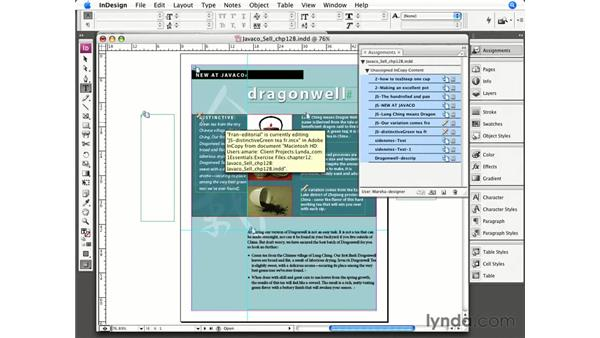 Closing out of a project: InCopy CS3 + InDesign CS3 Integration